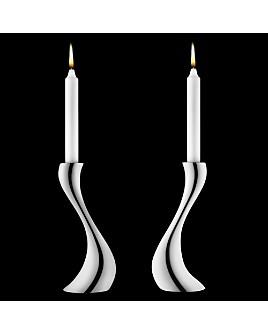 Georg Jensen - Cobra Candleholders, Set of 2