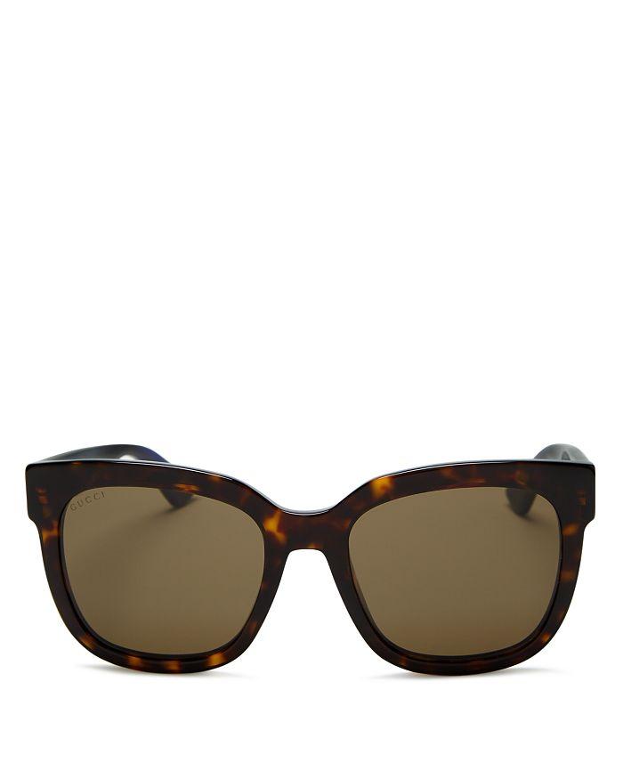 Gucci - Women's Logo Square Sunglasses, 54mm