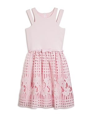Us Angels Girls' Lace Skirt Dress - Sizes 7-16