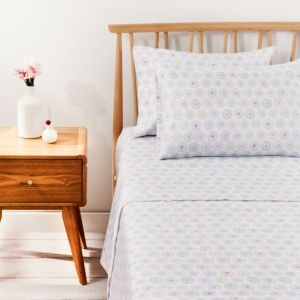 bluebellgray Hatti Printed Sheet Set, Twin