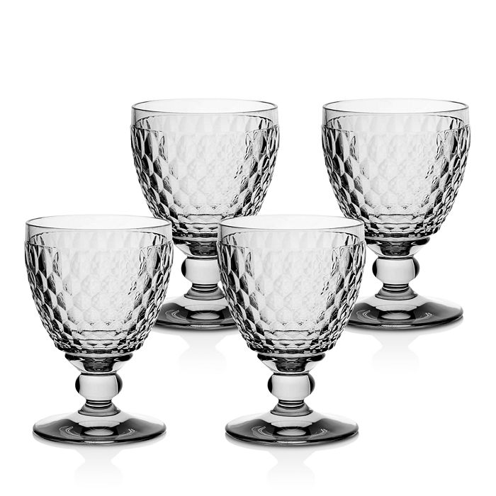 Villeroy & Boch - Boston Claret Glass, Set of 4