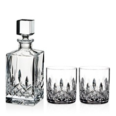 Waterford Lismore 3-Piece Connoisseur Square Decanter and Tumbler Set - Bloomingdale's_0