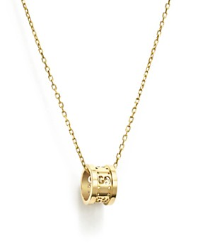 0782b71eb Gucci - 18K Yellow Gold Icon Twirl Pendant Necklace, ...