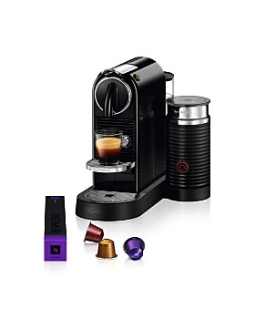 Nespresso - CitiZ & Milk Espresso Machine by De'Longhi with Aeroccino Milk Frother