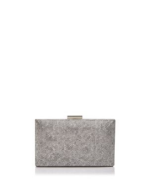 Sondra Roberts Embellished Metallic Clutch