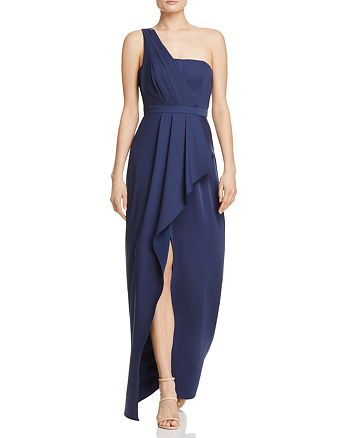 BCBGMAXAZRIA - Kristine One-Shoulder Gown