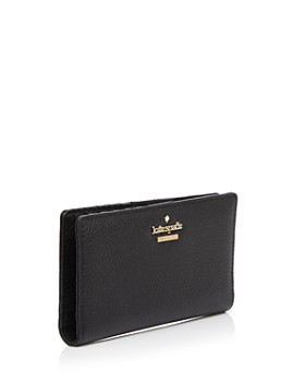 kate spade new york - Jackson Street Stacy Pebbled Leather Continental Wallet
