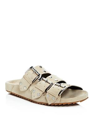 Rebecca Minkoff Tania Studded Slide Sandals
