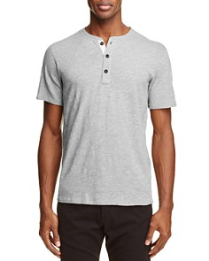 rag & bone - Heathered Henley Tee