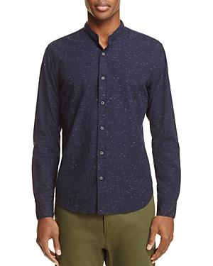 Scotch & Soda Band Collar Button-Down Shirt