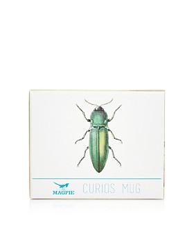 Magpie & Jay - Curios Green Beetle Mug
