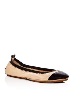 Yosi Samra Samantha 2.0 Cap Toe Ballet Flats