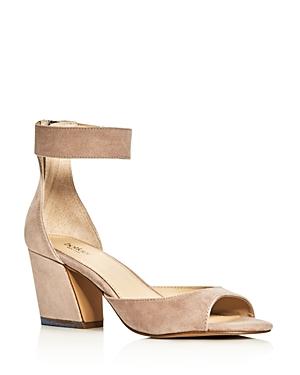 Botkier Pilar Ankle Strap Block Heel Sandals