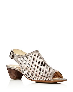 Paul Green - Women's Lois Perforated Slingback Sandals