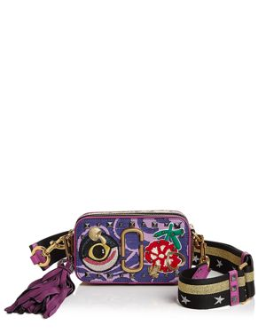 Marc Jacobs Snapshot Tapestry Saffiano Leather Camera Bag 2515846