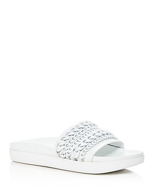 Kendall and Kylie Shiloh Chain Pool Slide Sandals
