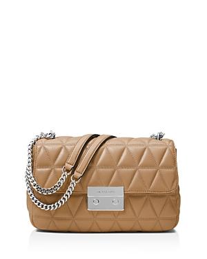 Michael Michael Kors Sloan Chain Large Leather Shoulder Bag