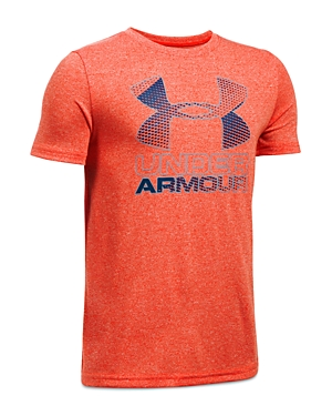 Under Armour Boys' Big Logo Hybrid 2.0 Tee - Sizes S-xl