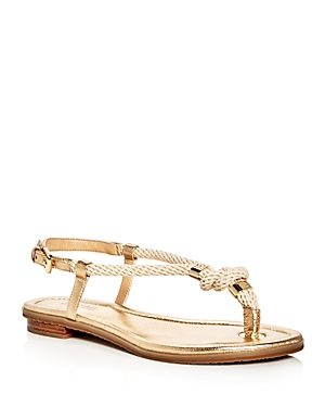 Michael Michael Kors Holly Metallic Sandals