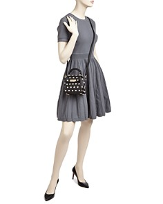 ZAC Zac Posen - Eartha Iconic Lady Faux-Pearl Top Handle Mini Leather Crossbody