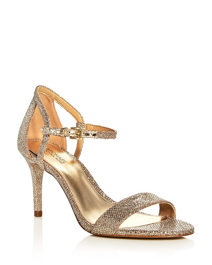MICHAEL Michael Kors - Women's Simone Glitter High-Heel Sandals