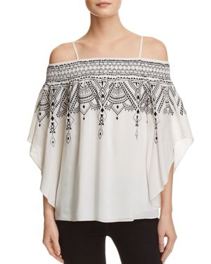 Parker Meilani Cold-Shoulder Top