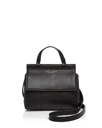 $Tory Burch Block-T Mini Leather Satchel - Bloomingdale's