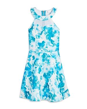Sally Miller Girls Abstract Print Halter Dress  Sizes Sxl