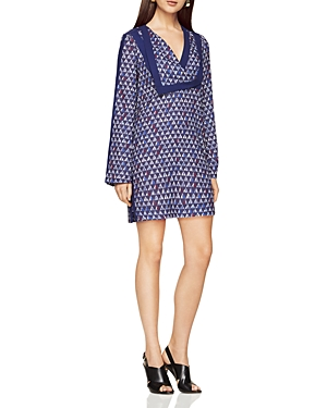 Bcbgmaxazria Geo Print Shift Dress at Bloomingdale's