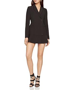 Bcbgmaxazria Aryn Zip-Front Jacket Dress