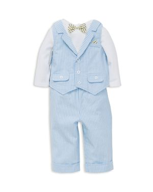 Little Me Boys' Bodysuit, Vest & Pants Set - Baby