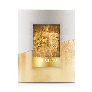 Portofino by Argento Sc Gold Concrete Block Frame, 5 x 7