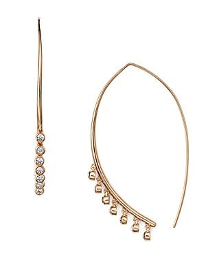 Jules Smith Lure Fringe Threader Earrings