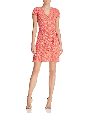Leota Perfect Wrap Cap Sleeve Dress