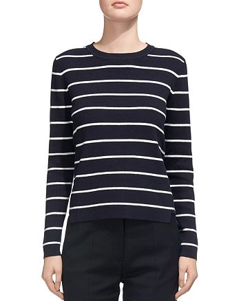 Whistles - Step-Hem Striped Top