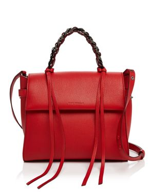 Elena Ghisellini Angel Small Leather Satchel