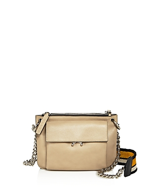 Marni Bandoleer Leather Shoulder Bag