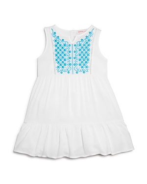 Design History Girls Embroidered Dress  Little Kid