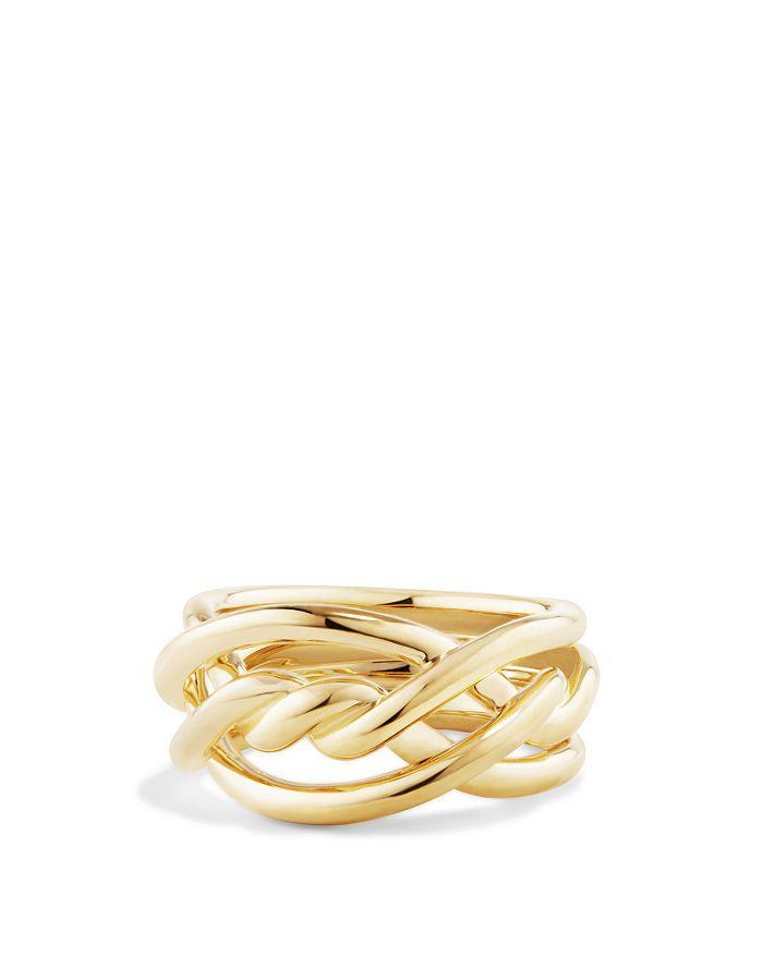 David Yurman - Continuance Ring in 18K Gold, 11.5mm