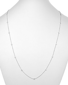 Bloomingdale's - Diamond Station Necklace in 14K White Gold, 1.50 ct. t.w. - 100% Exclusive