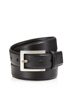 John Varvatos Star Usa Leather Dress Belt