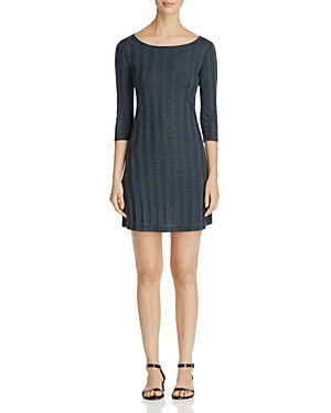 Three Dots Knit Stripe Dress