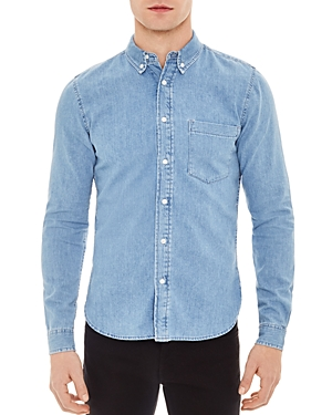 Sandro Heritage Classic Fit Button-Down Shirt