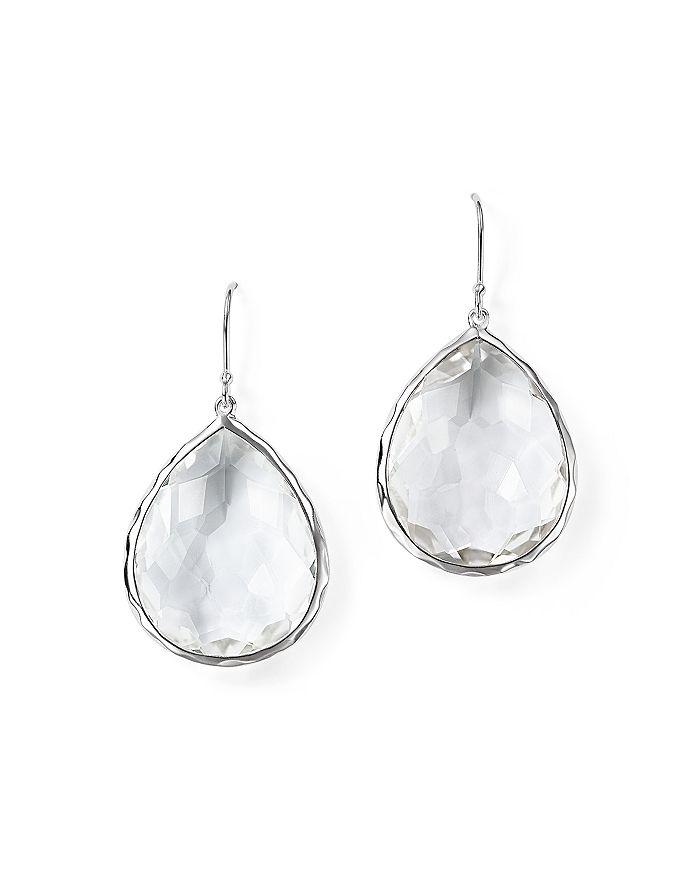 d892edc23 IPPOLITA - Sterling Silver Rock Candy Large Teardrop Earrings in Clear  Quartz