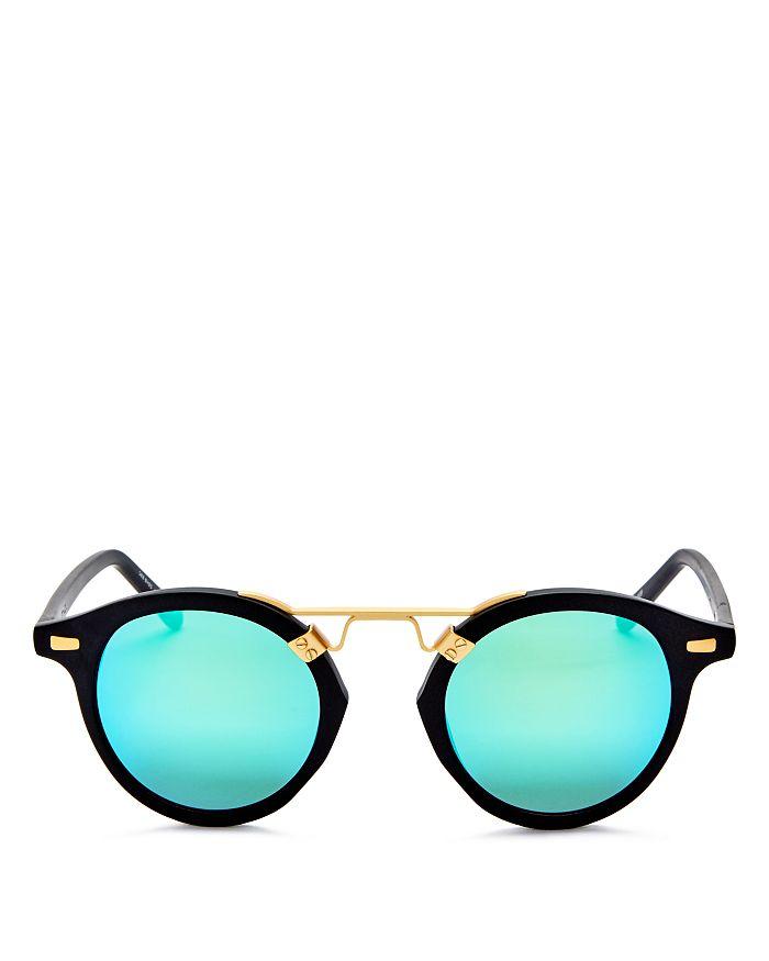 7e887a18f Krewe - Women s St. Louis 24K Mirrored Round Sunglasses