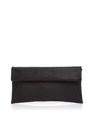 Aqua Foldover Embossed Clutch - 100% Exclusive 2535187