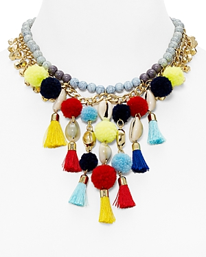 Baublebar Tahiti Statement Necklace, 15.5