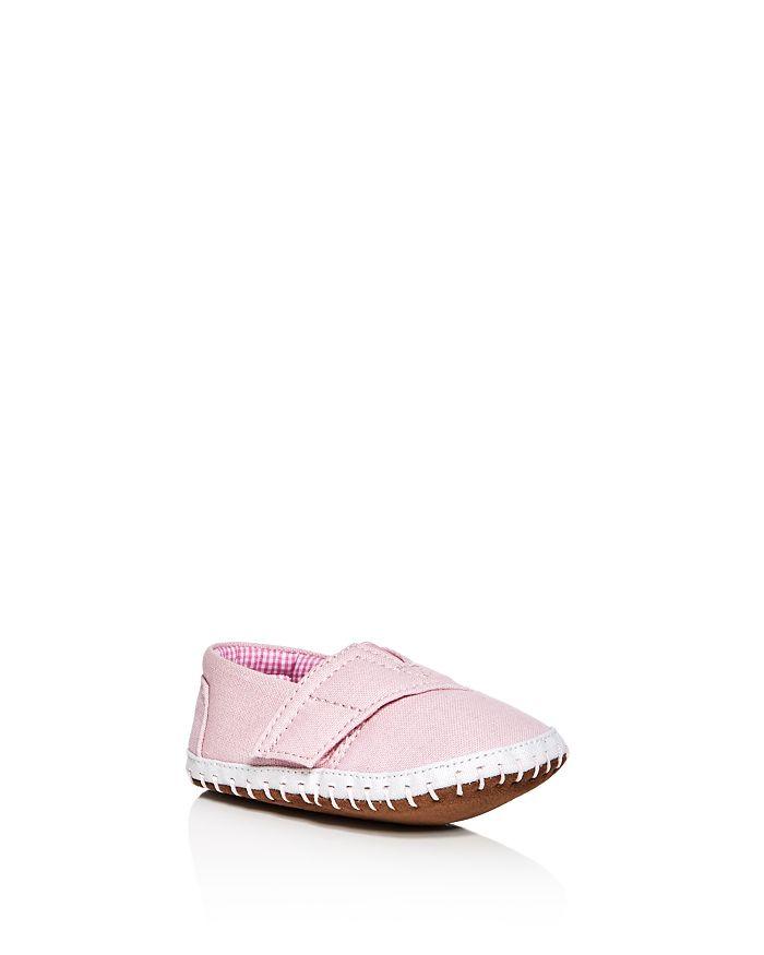 TOMS - Girls' Alpargata Canvas Crib Shoe - Baby
