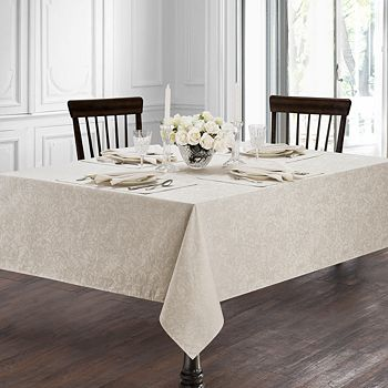 "Waterford - Peony Tablecloth, 70"" x 84"""