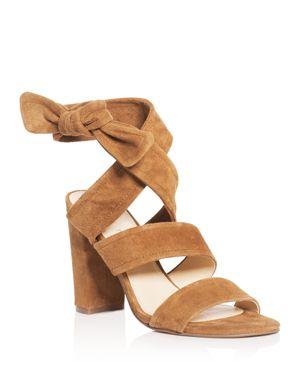 Ivanka Trump Kiffie Ankle Tie High Heel Sandals